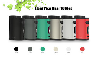 200W Pico Dual By Eleaf, 6 Color Available