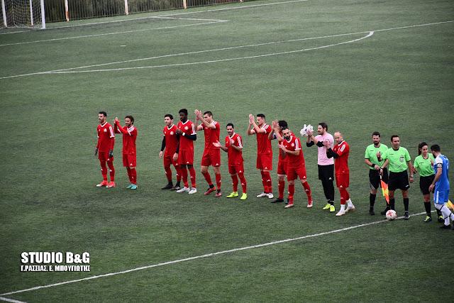 2-1 νίκησε το Ναύπλιο 2017 την Κορωνίδα Κοιλάδας