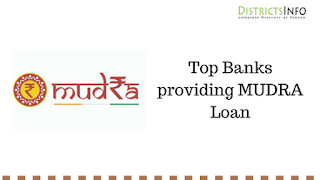 Top Banks and Financial Institutions providing MUDRA Loan
