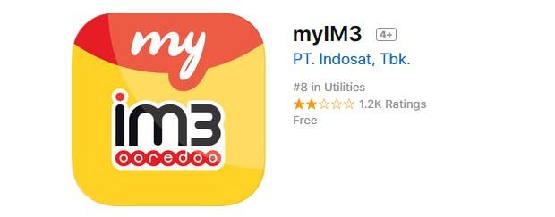 Cara Daftar Paket Yellow Indosat Pakai Aplikasi MyIM3 Terbaru 2019