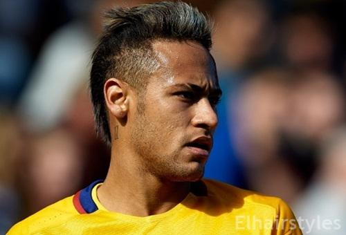 neymar new haircut