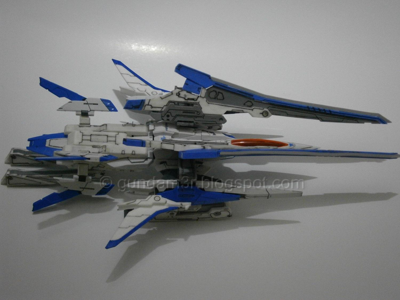 Add On Xn Raiser Resin Conversion Kit For 00 Gundam Mg