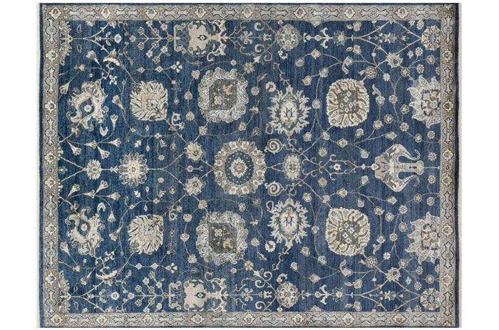Blue Rug from Loloi Rugs | 20 Classic Style Rugs for Any Budget at www.andersonandgrant.com