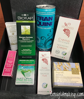 Mybeautybox Settembre 2017: Be Natural, Be Beautiful!