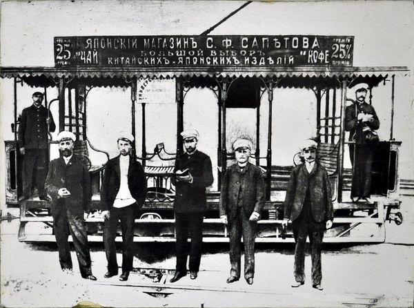 Трамвай в Севастополе
