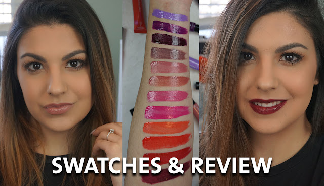 L'Oreal Infallible Lip Paints review and swatches