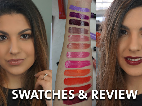 L'Oreal Infallible Lip Paints Review & Swatches