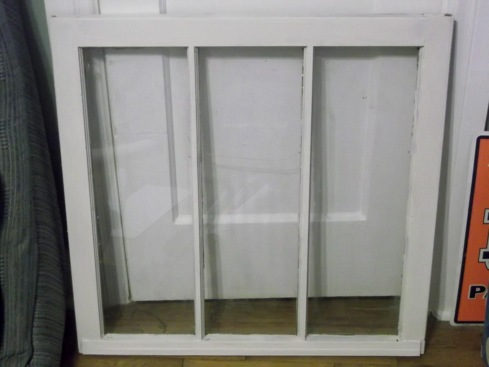 green pbnjs old window upcycle. Black Bedroom Furniture Sets. Home Design Ideas