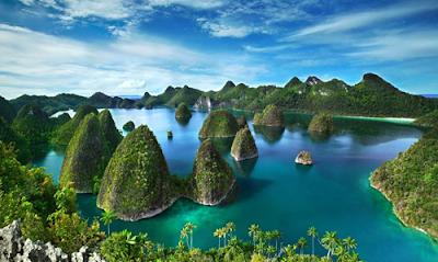 5 tempat wisata alam terindah di indonesia