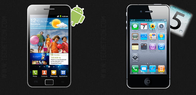 iPhone 4s VS Galaxy Sii