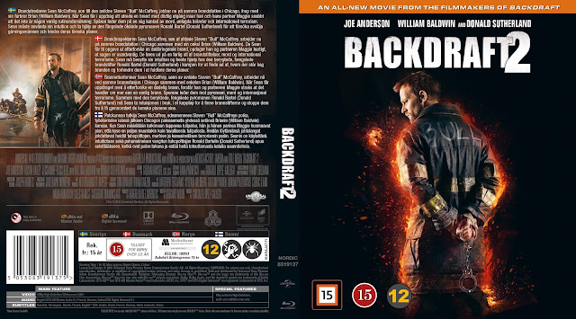 Backdraft 2 Bluray Cover