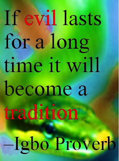 Snakes African Proverb