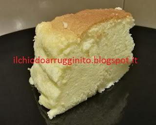 Ricetta della japanese cheesecake (cotton cake)