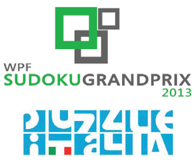 8th Round  (Italian Round) of Sudoku Grand Prix