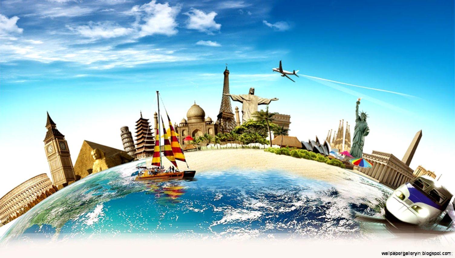 World Tourism Travel Wallpaper