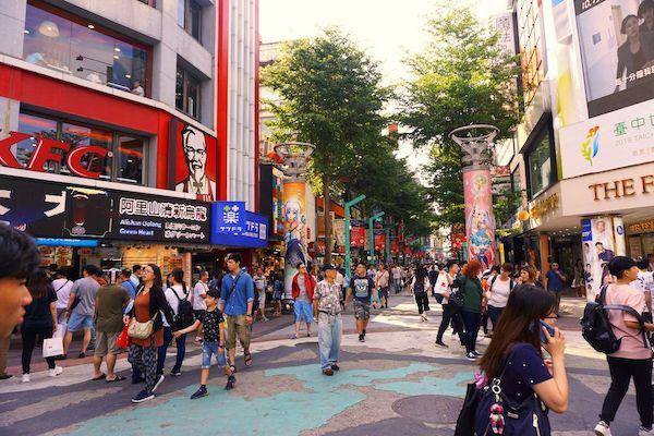 台北の渋谷、原宿こと西門町