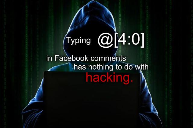 Facebook hacking - @[4:0]