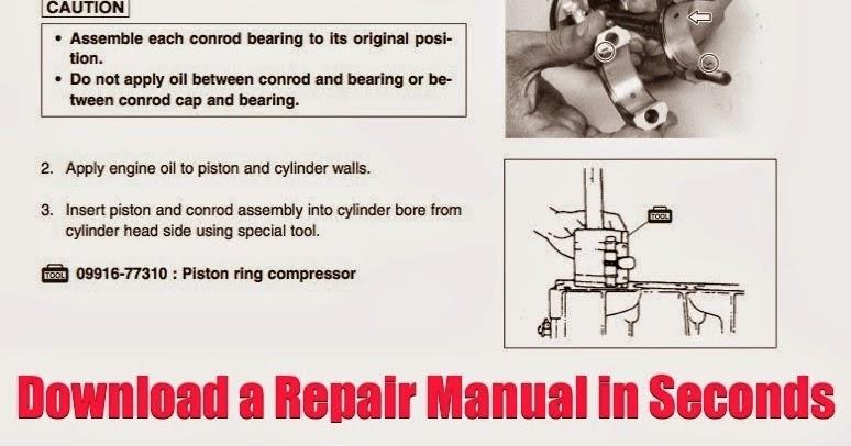 DOWNLOAD POLARIS TRAIL BOSS REPAIR MANUAL: DOWNLOAD Polaris Trail Boss 325 Repair Manual ATV