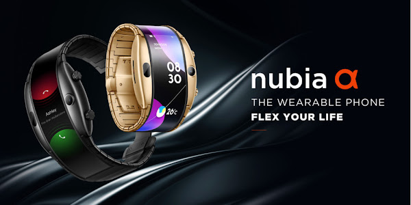 The Nubia Alpha is a wearable phone which takes selfies