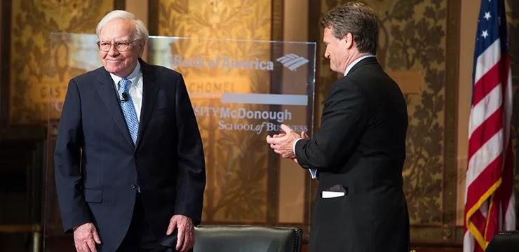 Уоррен Баффет Bank of America