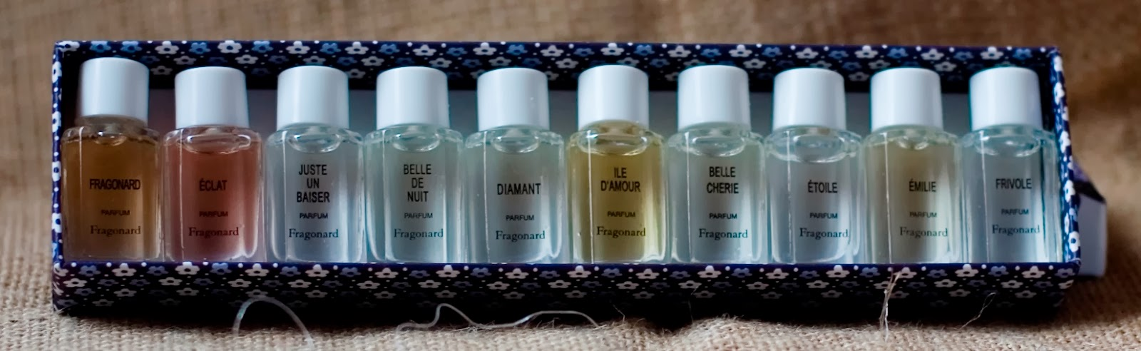 Unred Me Not Dix Parfums Set By Fragonard Parfumeur