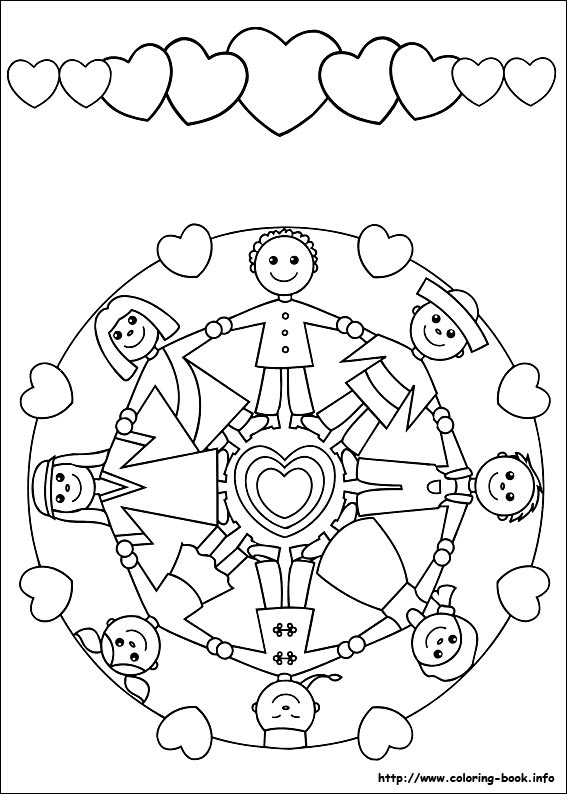 Mandala Coloring Pages For Kids ~ Parenting Times