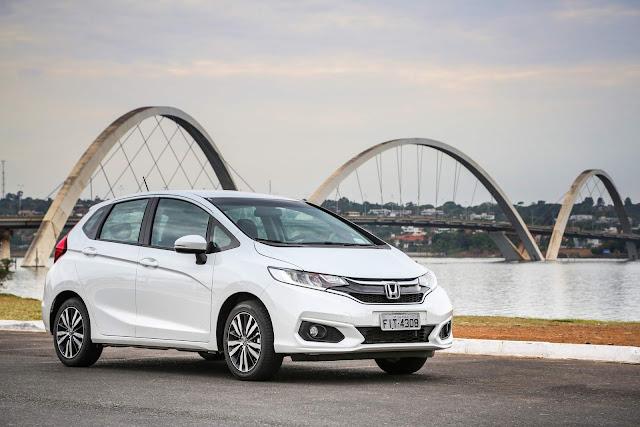 Honda Fit, HR-V e WR-V - elevação de preços mar/2018
