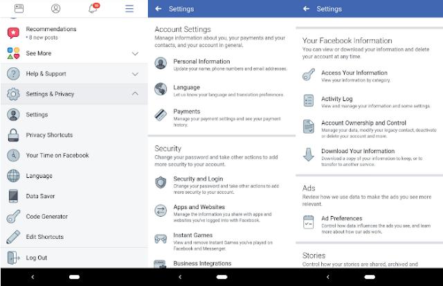 Cara Menghapus Akun Facebook Anda di Android,Ini Canya 3