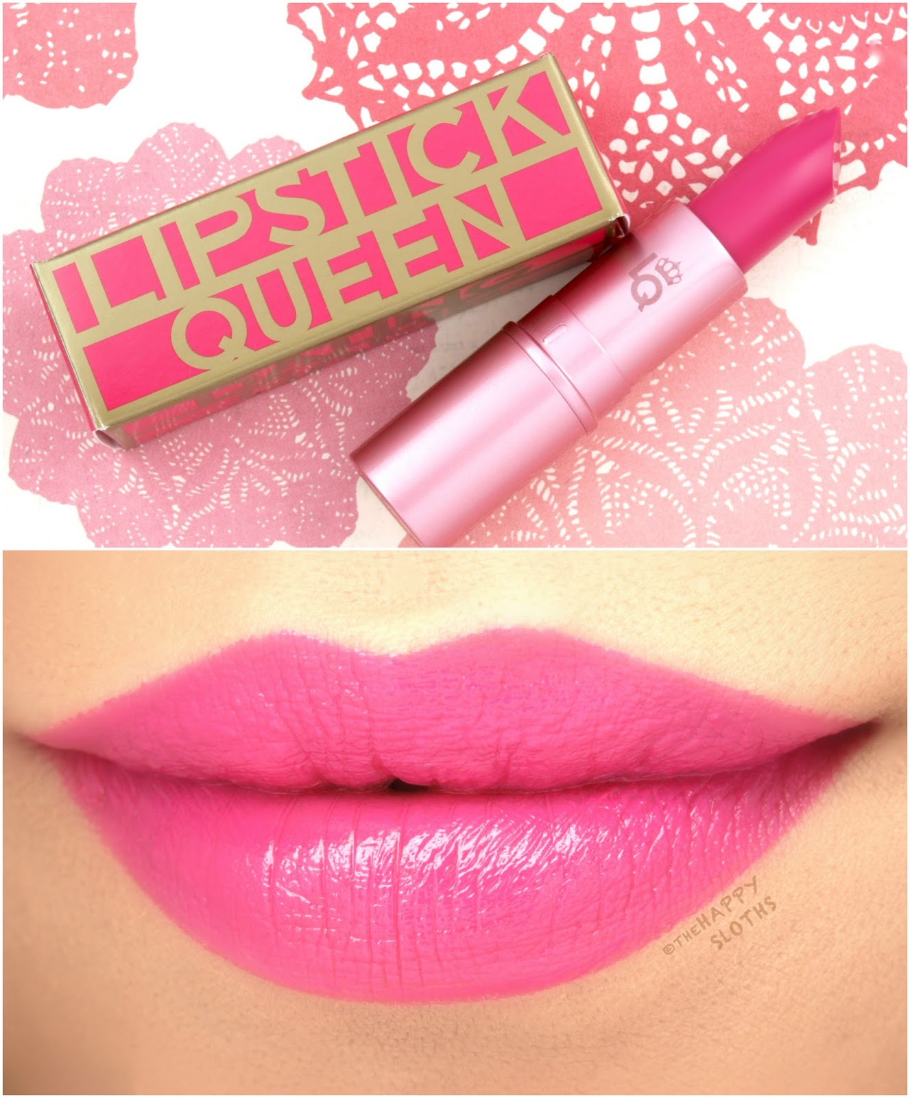 "Lipstick Queen | Dating Game Collection in ""Bad Boy"": Review and Swatches"