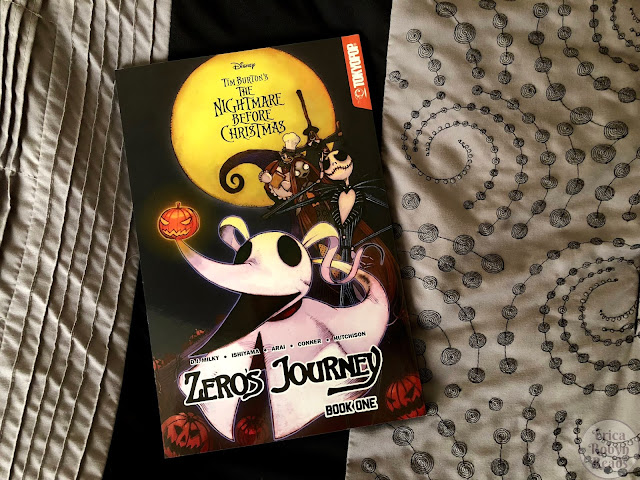 Graphic Novel Review of Nightmare Before Christmas: Zero's Journey by D.J. Milky