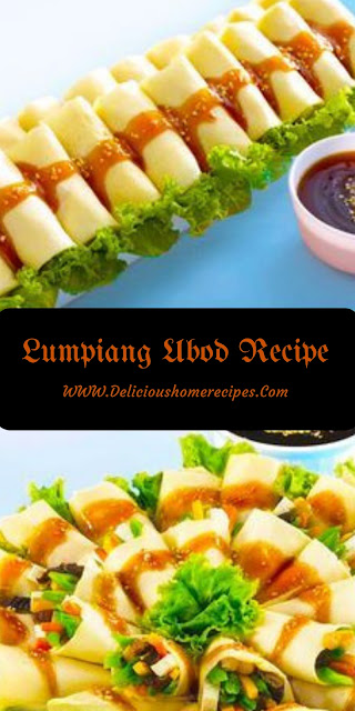Lumpiang Ubod Recipe #vegan #appetizer