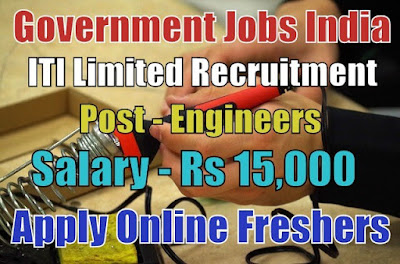 ITI Limited Recruitment 2018