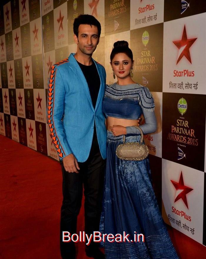 Nandish Sandhu, Rashmi Desai, Asha Negi Simone Singh Hot HD Images At Star Parivaar Awards 2015 Photo Gallery