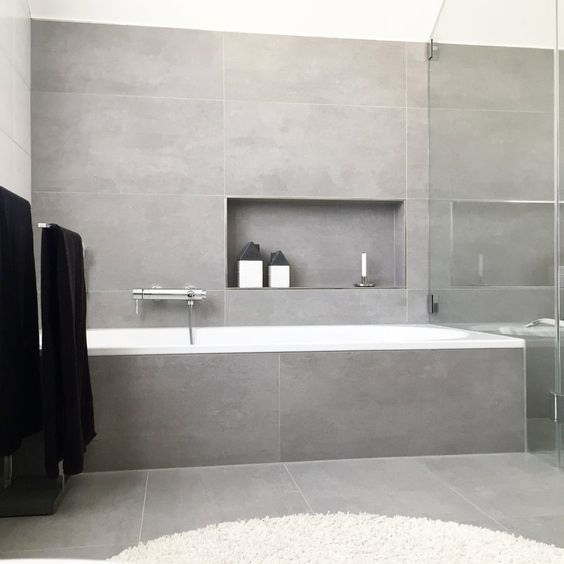 minimalismus f r alle r ume fliesen kayser. Black Bedroom Furniture Sets. Home Design Ideas