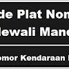 Kode Plat Nomor Kendaraan Polewali Mandar