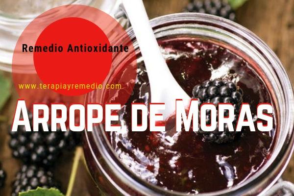 El Remedio Natural Arrope de Moras es aprovechado para el gargarismo, en las inflamciones y excoriaciones.