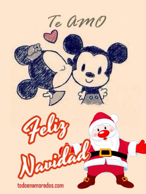Postal navideña para tu amor