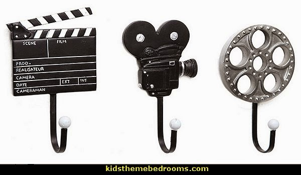 movie themed decor - movie reels