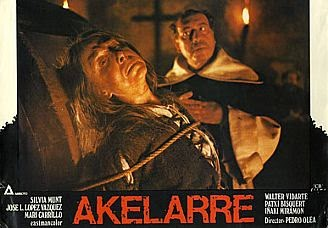 Akelarre Filma Euskaraz.  Urriak 2, osteguna 20:00etan  Nafarroako Filmotekan.