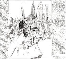 york drawing bryan cities drawings cool trey
