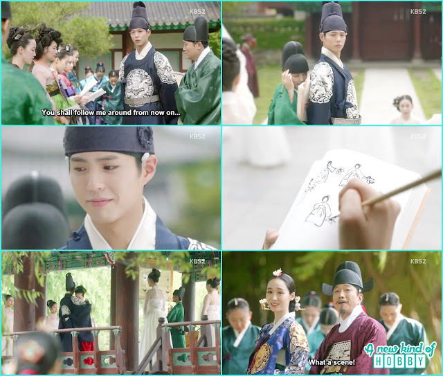 kings birthday prepration a solo dance prepration by crown prince - Love in The Moonlight - Episode 4 Review