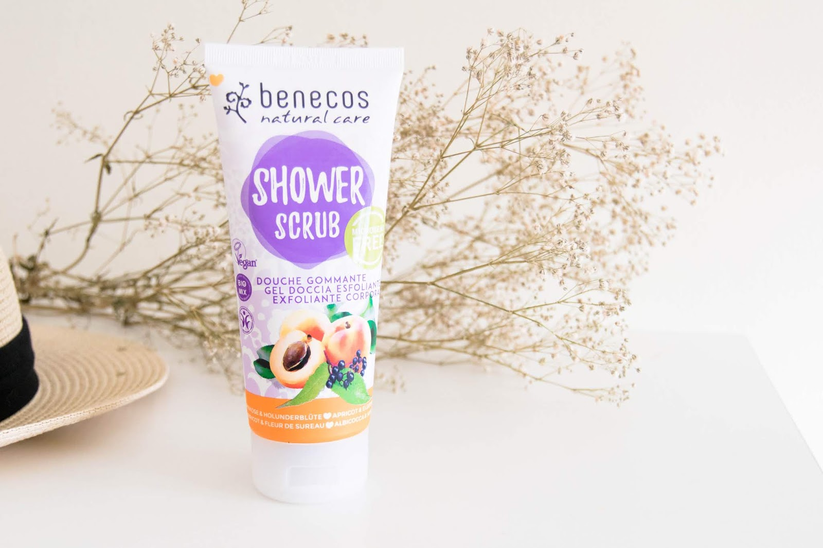 shower scrub benecos