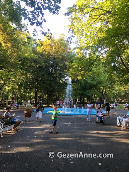 Huzur dolu Burgas parkı, Bulgaristan