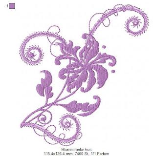 JoSigernegross BlumenrankeFreebie