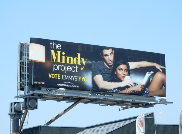 The Mindy Project 2015 Emmy billboard