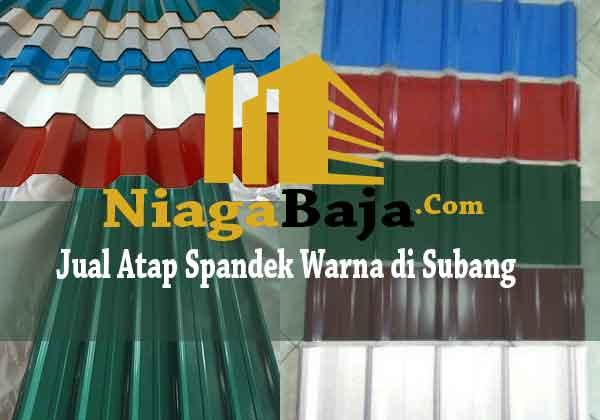 Jual Atap Spandek Warna di Subang - Harga Murah Berkualitas
