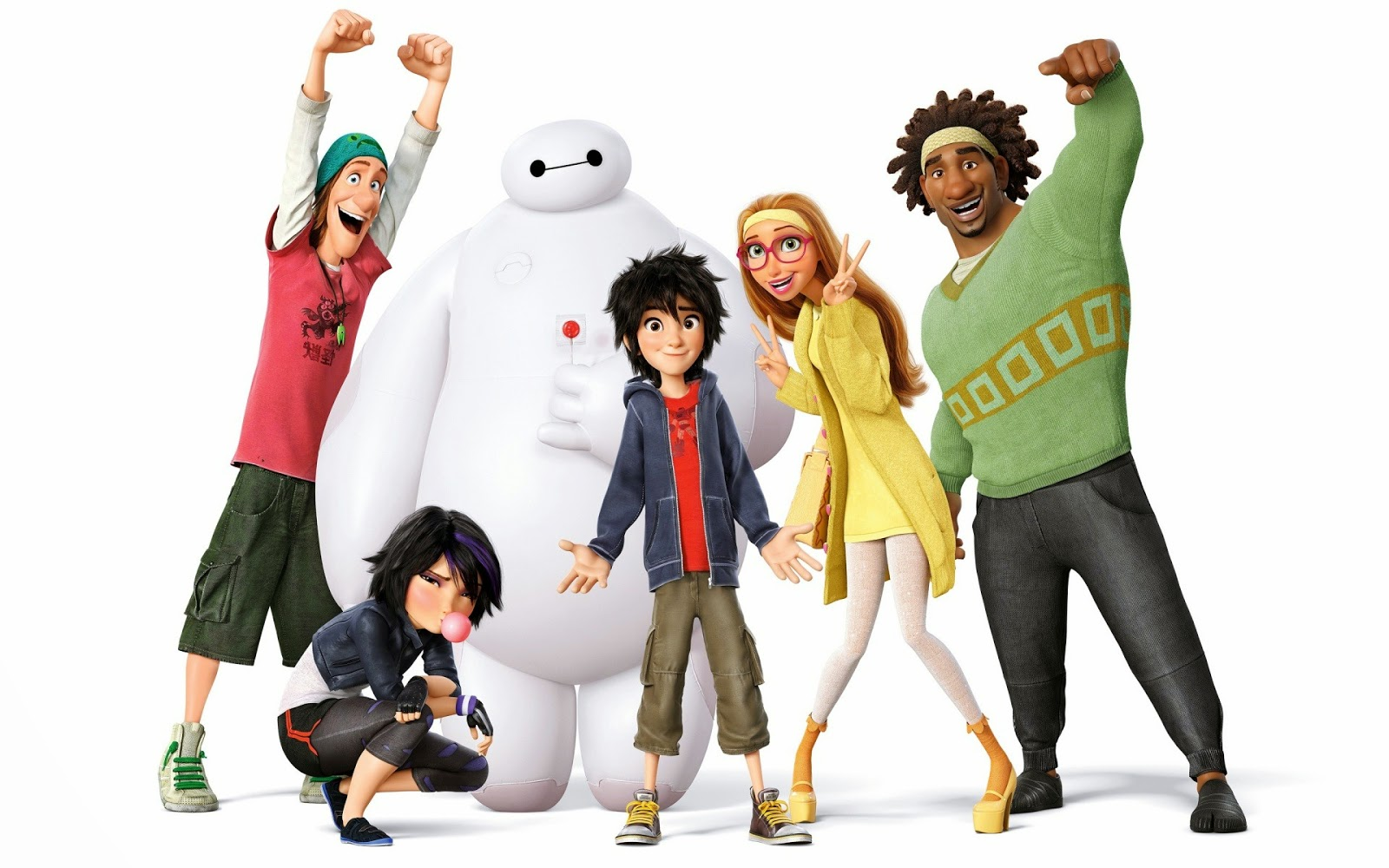 10 Film Hollywood Terlaris Pekan ini, Big Hero 6