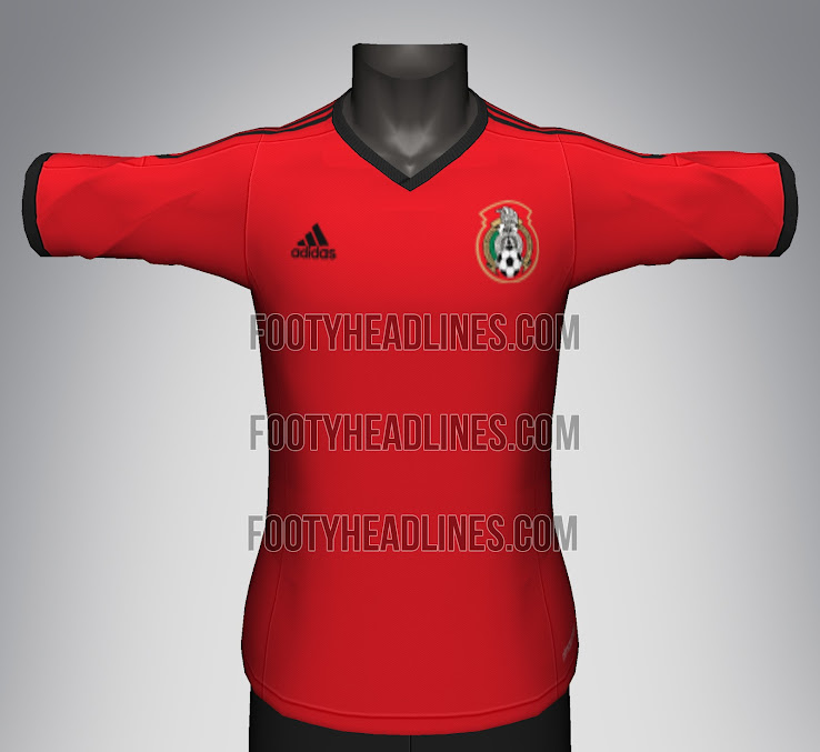 4451f192683 MEXICO ADIDAS NEW JERSEY 13 14 DISCUSSION