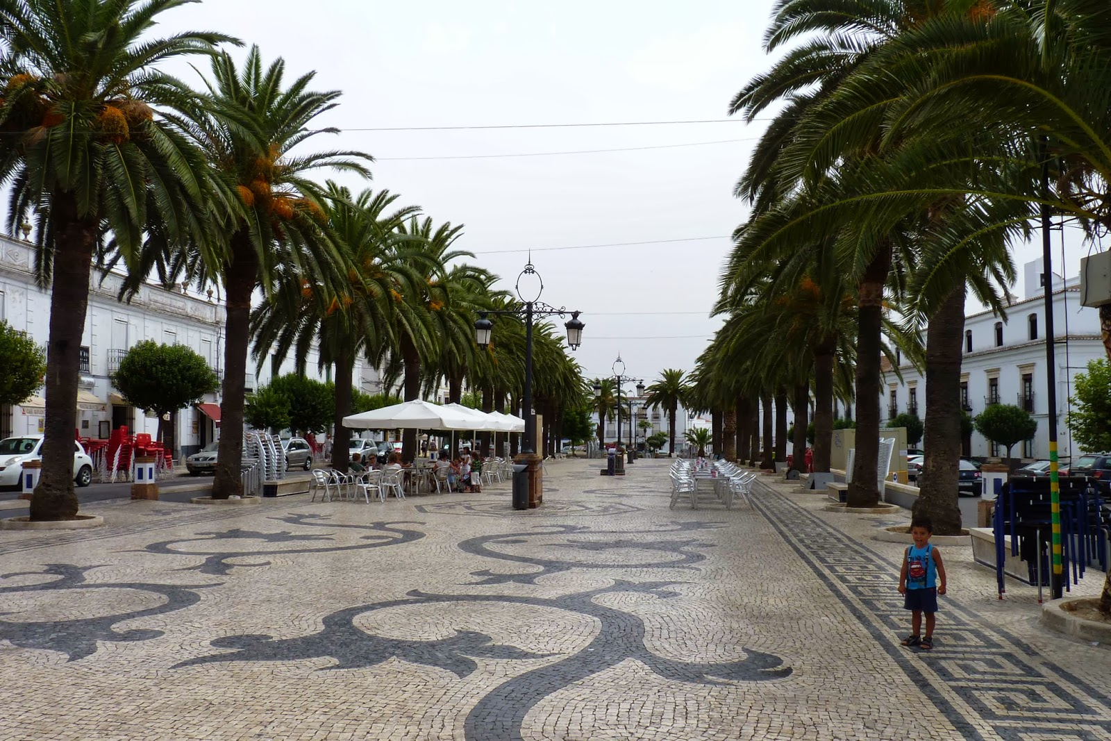 Olivenza, Avenida de Portugal.