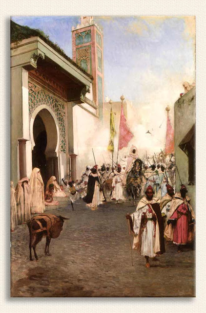 Benjamin Constant Fatih'in Istanbul'a Girişi